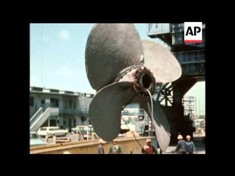Queen Mary Ocean Liner - 1968 - NO SOUND