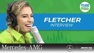 FLETCHER on What She Did Before Singing | Elvis Duran Show