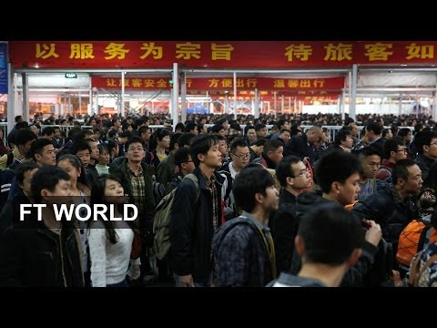Chinese New Year migration strains transport links