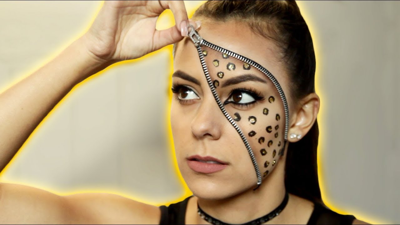 100+ [ Simple Cute Leopard Halloween Makeup Tutorial Easy Youtube ...