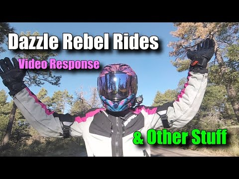 Dazzle Rebel Video Response & Other Stuff  ||  Honda NC700x