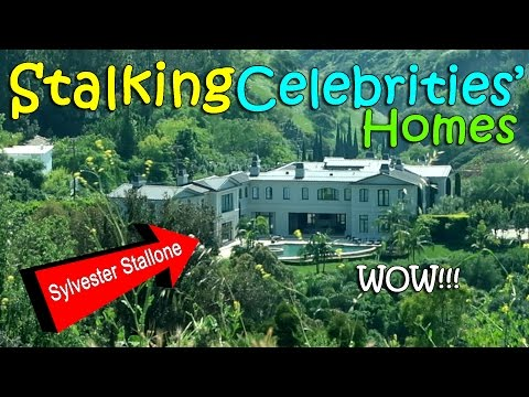 OMG! STALKING CELEBRITIES' HOMES in HOLLYWOOD | March 31st, 2017 | Vlog #70