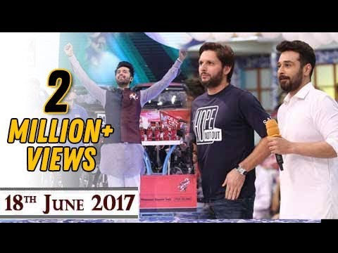 Jeeto Pakistan - Guest :Shahid Afridi & Faysal Qureshi  -  18th June 2017 - ARY Digital Show