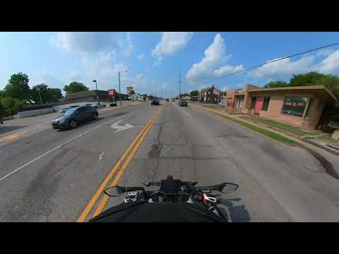 First Motorcycle Accident