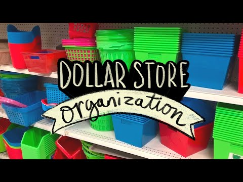 Dollar Store Organization For Art & Craft Supplies! 💵 Sea Lemon
