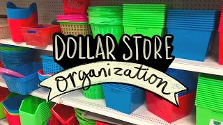 Dollar Store Organization for Art & Craft Supplies! 💵 Sea Lemon