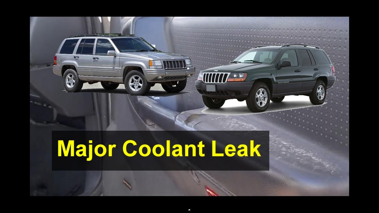jeep grand cherokee issues, blow head gasket maybe  - votd