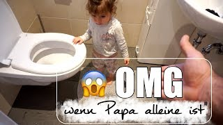 Serki alleine mit den Kindern |  OMG  was ist da passiert?