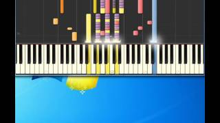 Curtis Mayfield   Move On Up [Piano tutorial by Synthesia]