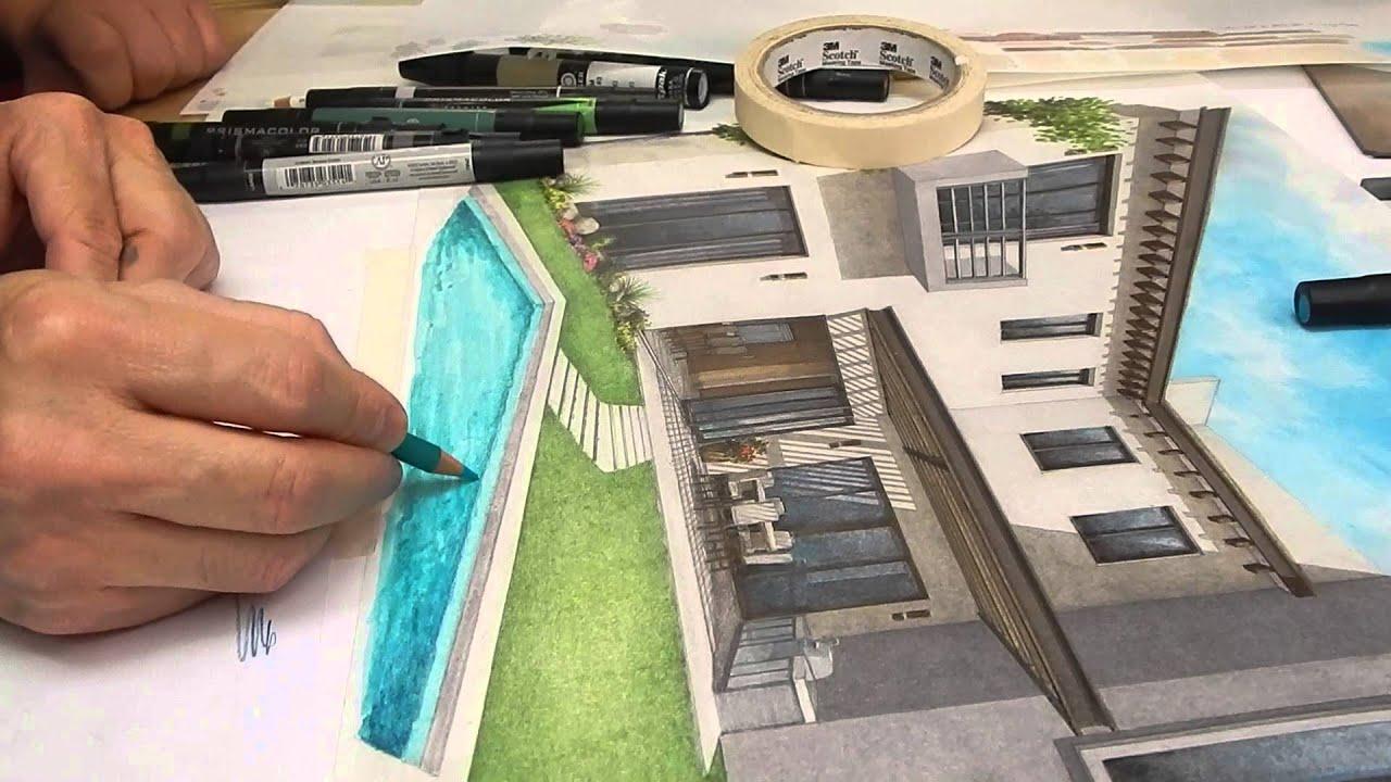 T cnicas de representaci n de obra 1 2 youtube for Tecnicas de representacion arquitectonica pdf