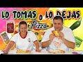 LO TOMAS o LO DEJAS PIZZA !! Take it or Leave it Pizza | Marta vs David  | TOMA YA !