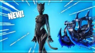 "*NEW* ""Black Lynx"" Skin Unlocked! - PS4 Fortnite Player Gameplay *LIVE* CREATOR CODE: ""DREWQUA_"""