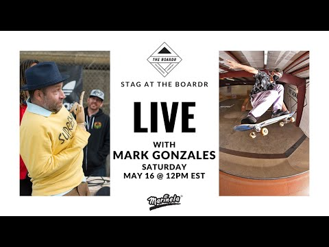 Judging a Skateboarding Contest with Mark Gonzales: Stag at The Boardr Presented by Marinela