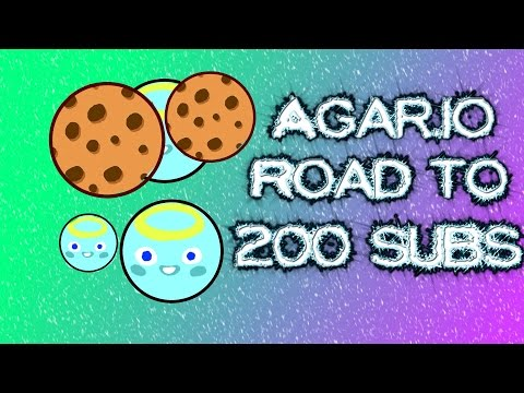 Agar.io best Proteam EVER!!!!! road to 200 subs