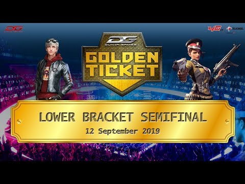 Semifinal Lower Bracket Dunia Games Golden Ticket Area 3 - 12 September 2019