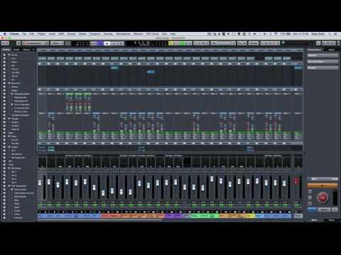 Cubase Pro 9 mixer