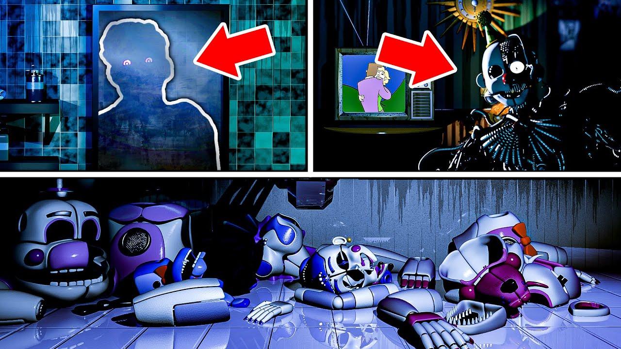 Download Five Nights at Freddy's Sister Location All Endings + Secret Animatronic (Ennard) + Extras Menu