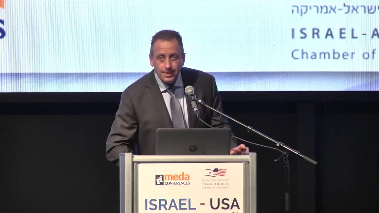 Yaniv Garty, Intel CEO, opens the Summit