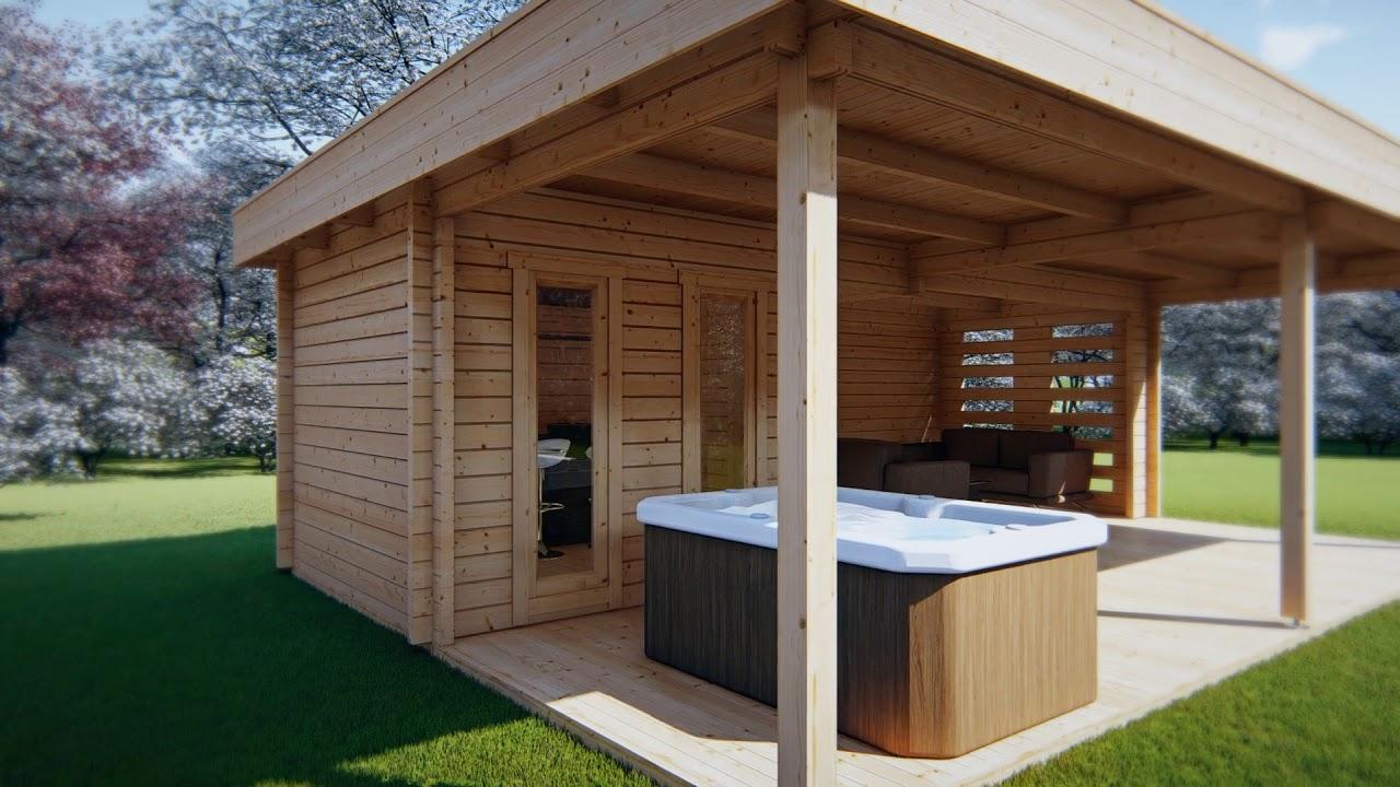 Large Garden Shelter Garden Paradise A 10m²