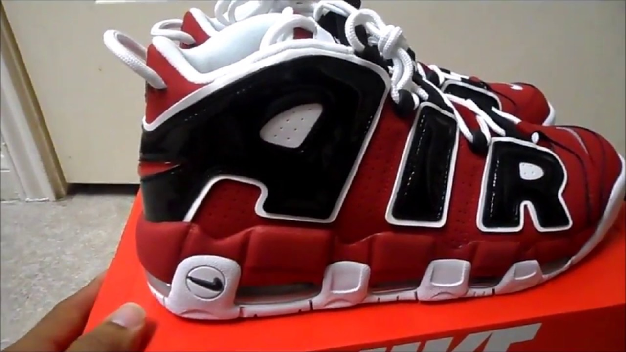 Nike Uptempo Chicago Pick Up - YouTube e7c33ff9f