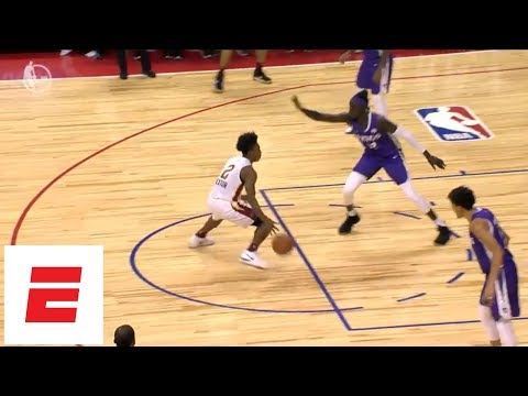Collin Sexton goes off [25 pts, 7 ast, 4 rebs] in Cavs' summer league playoff win over Kings | ESPN
