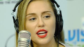Miley Cyrus admits that she's BACK to the ganja and STILL likes to ...