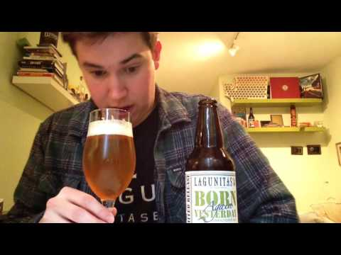 Lagunitas Brewing Co. Born Again Yesterday Pale Ale Review (2017 Limited Release)