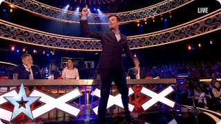 David dishes out advice to Simon Cowell!   Semi-Final 4   Britain's Got More Talent 2017