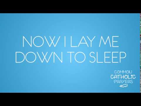 Now I Lay Me Down To Sleep (ENGLISH)