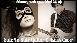 Ariana Grande Side To Side Guitar/Bass Cover by Songs in the Key of Aaron(Bass Tabs in Description!)