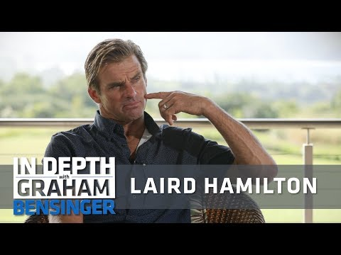 Laird Hamilton: Surfing AFTER puncturing face