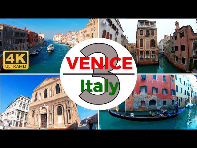 Venice, Italy Walking Tour Part 3 of 6