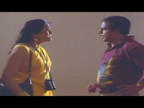 Hilarious Comedy scene between Mallikarjun Rao and Jaya Lalitha