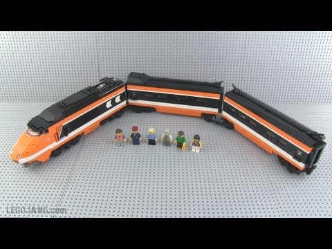 LEGO Horizon Express TGV train review 10233