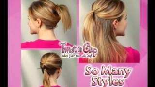 заколки Twist N Clip 120 Second TV Spot podary.com.ua(Набор заколок для волос с украшением Twist N Clip., 2015-01-07T15:17:43.000Z)