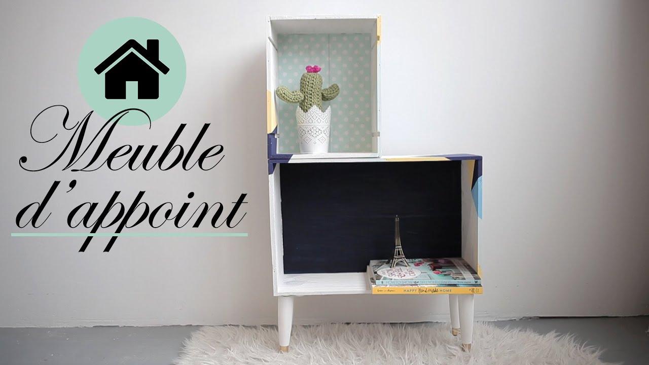 diy d co meuble d 39 appoint en caisse de vin l 39 atelier. Black Bedroom Furniture Sets. Home Design Ideas