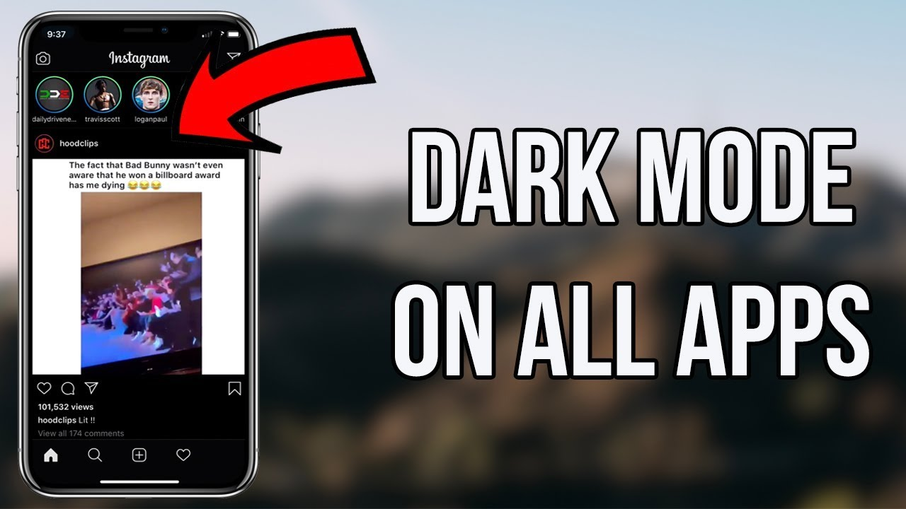 How to Get Dark Mode on All iPhone Apps - Get Dark Mode on ...