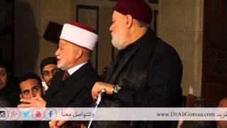 مفتي القدس: لايعتدي على الجيش المصري إلا مجرم ... والنبي أفتى بجواز زيارة القدس وهي تحت الاحتلال