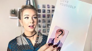'BTS Love Yourself Answer unboxing! (finalllyyyy) // ItsGeorginaOkay