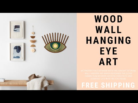 Wood Wall Hanging Art