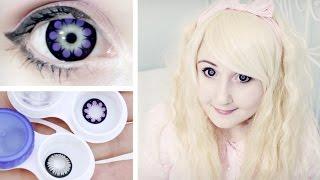 видео диаметр контактных линз