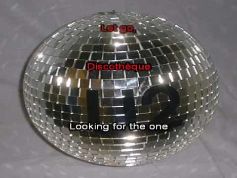 U2 - Discothèque (Karaoke with Lyrics)