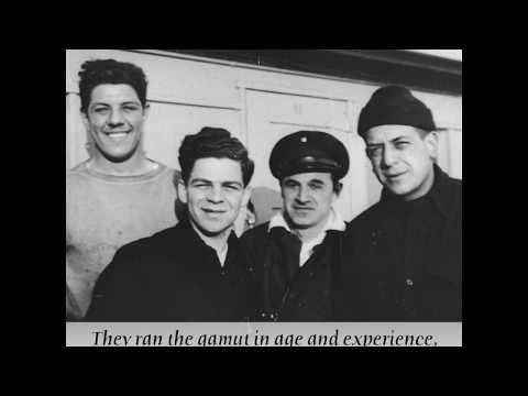 The crew of the Exodus 1947