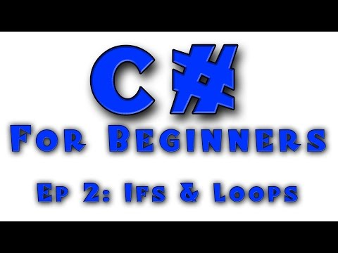 C# for Complete Beginners - Tutorial #2 - Conditionals (If/Else) and Simple Loops (While)