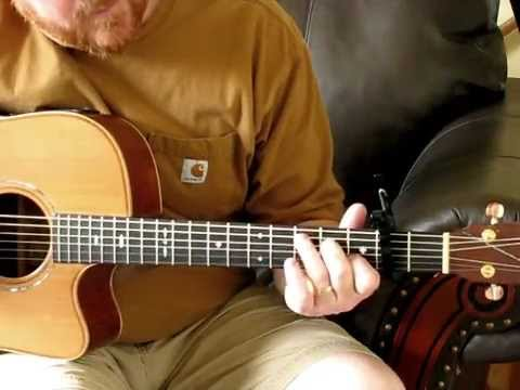 There's Power In The Blood - Gospel Bluegrass Guitar Lesson