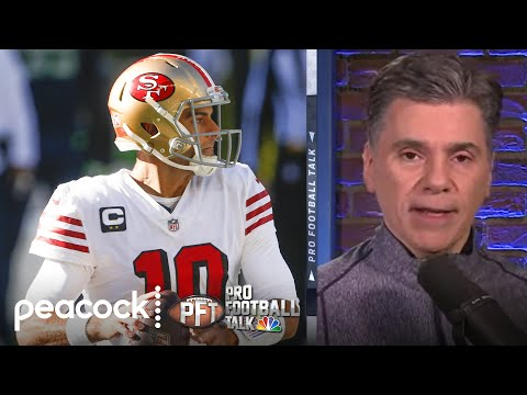 What will San Francisco 49ers do at QB if Jimmy Garoppolo leaves? | Pro Football Talk | NBC Sports