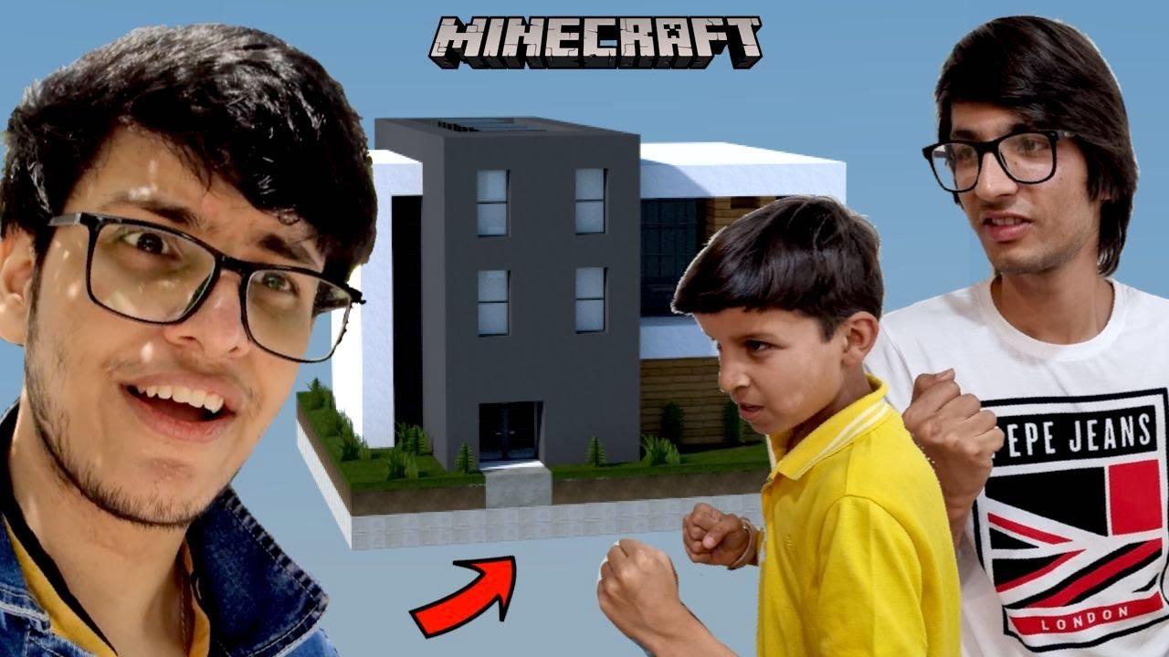Minecraft Build Battle vs Piyush and @Sourav Joshi Vlogs