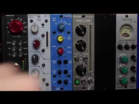 500 Series Preamps and Compressors, What I Use And When I Use Them
