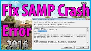 ►How to fix GTA SAMP Crash 0.3.7 in 2 STEPS [2016]