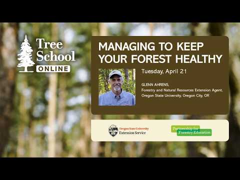 Tree School Online: Managing To Keep Your Forest Healthy